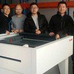 Image for the Tweet beginning: Five Kodak engineers visited our