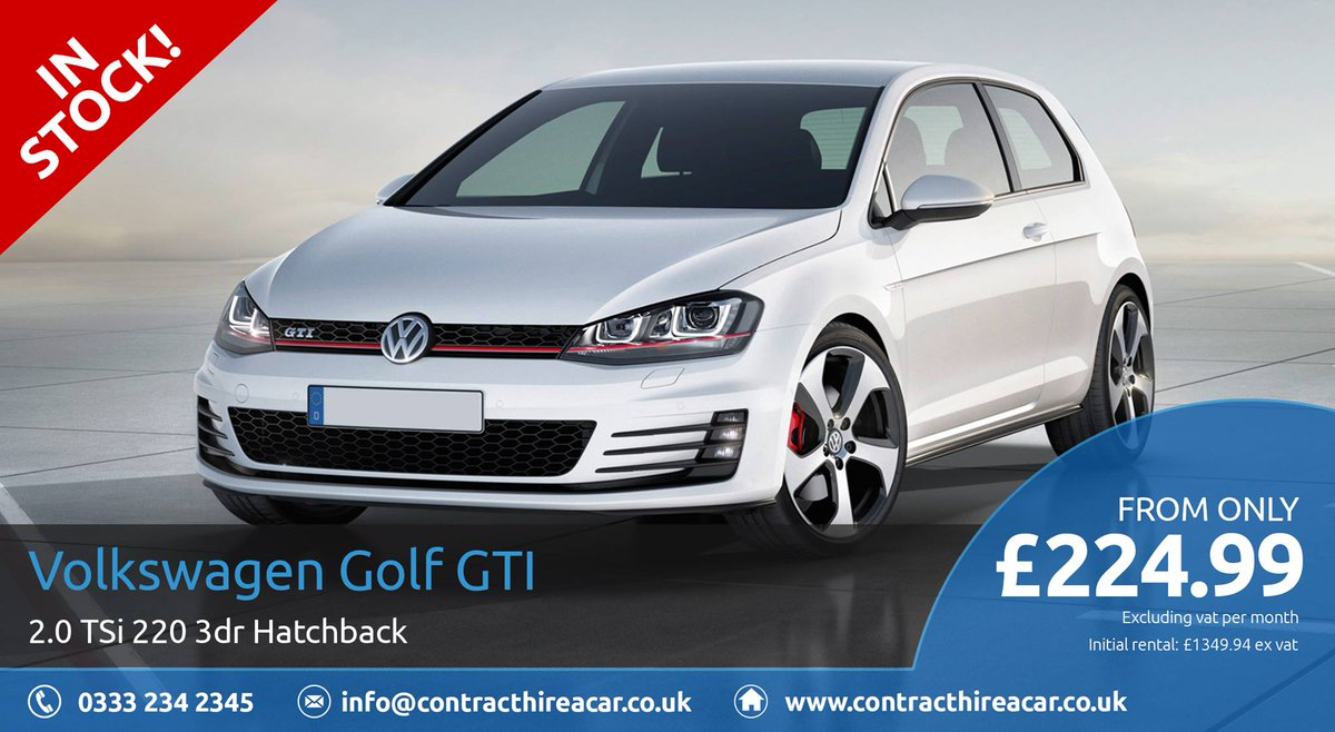 latest vw golf gti business leasing personal contract hire pch deal uk business forums. Black Bedroom Furniture Sets. Home Design Ideas