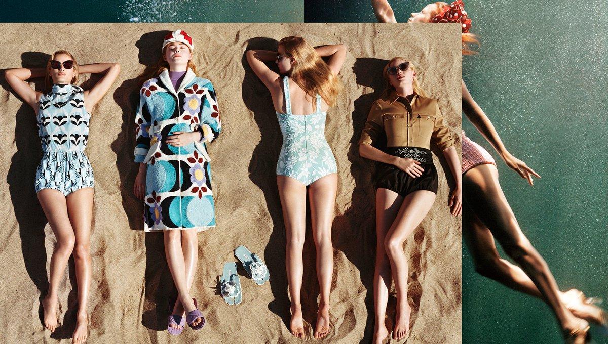 "Today Miu Miu reveals ""Suddenly Next Summer"", the third campaign by photographer #AlasdairMcLellan. #miumiuSS17"