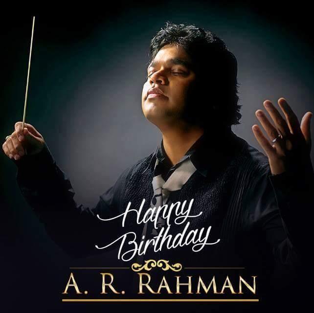 Happy birthday A.R.rahman