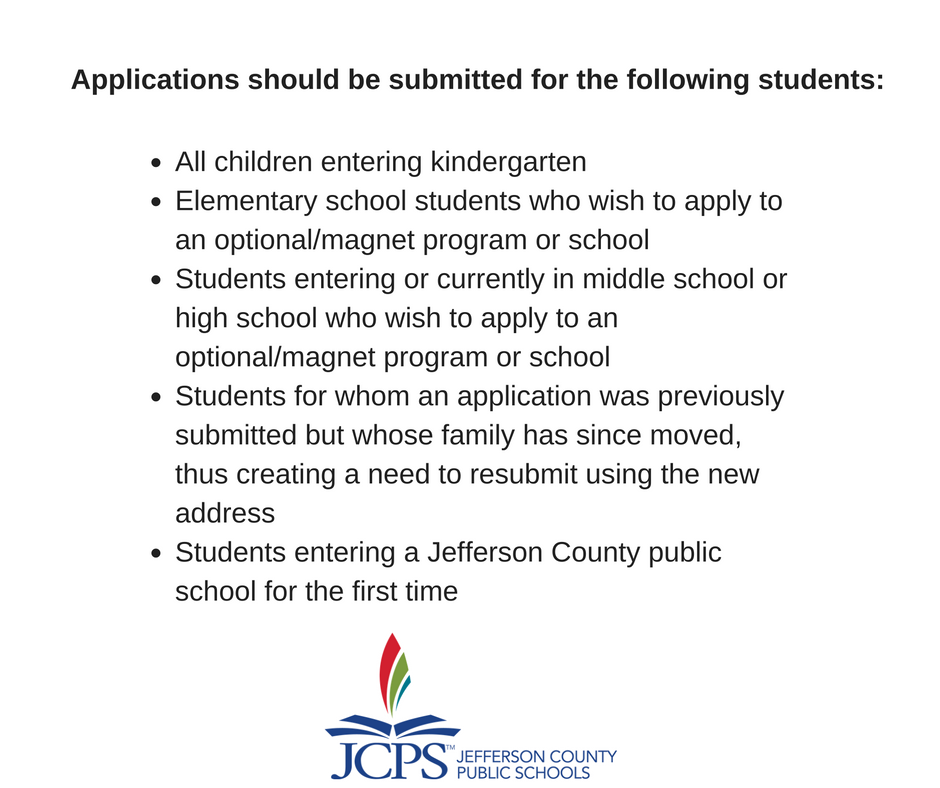Jcps On Twitter Reminder The Application Period For The 2017 18