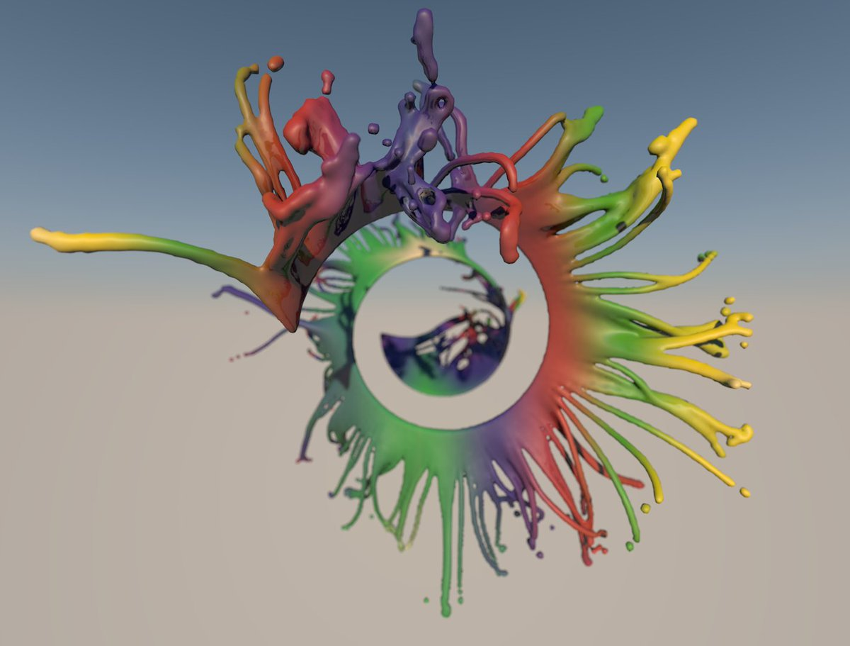 It's good to be back in the office together again! Here's a little something from today. #backinbusiness #3d #colours