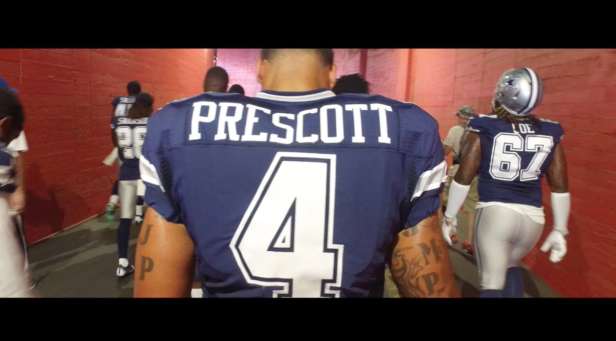 How much weight can one man carry?  In @Dak's story, he shares how he draws the strength to #FinishThisFight