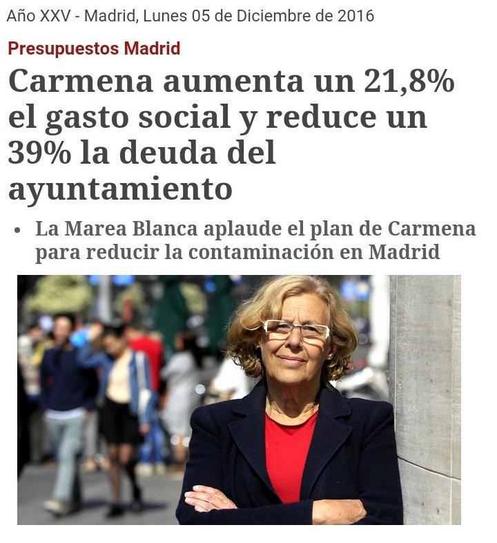 Resultado de imagen de MADRID demuestra que se puede Reducir Deuda