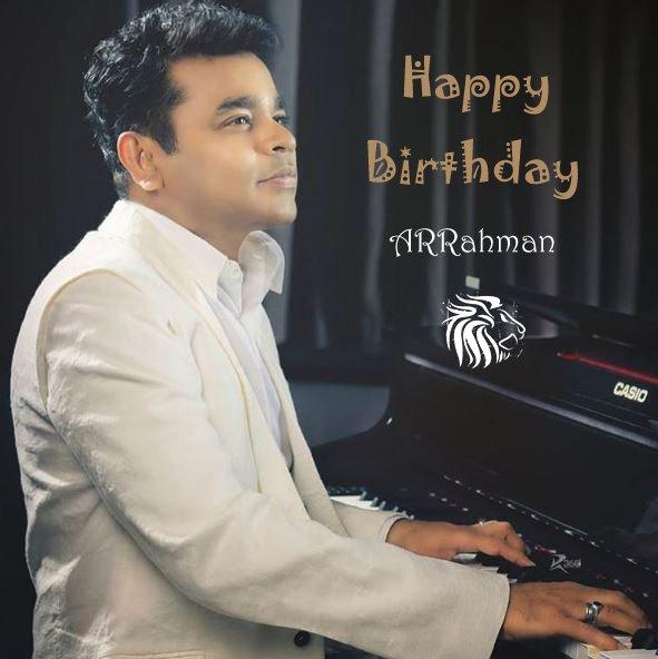 Happy Birthday Oscar Tamizha A.R.Rahman