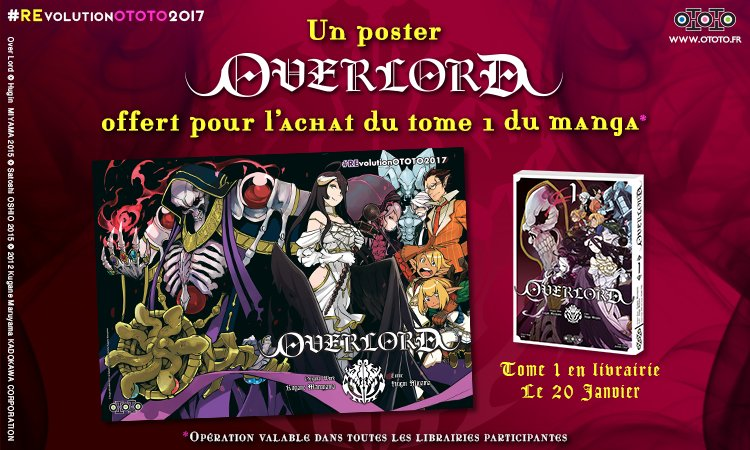 [Manga] Opération posters pour fêter la nouvelle année chez Ototo !
