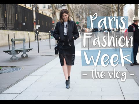 Vlogging at Paris Fashion Week
