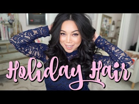 AFFORDABLE Holiday Hair Tutorial!