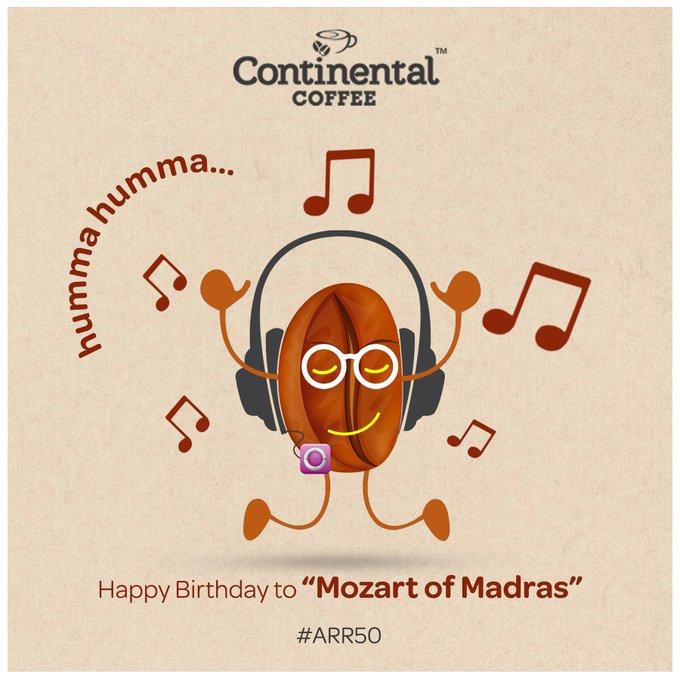 Wishing A R Rahman a very Happy Birthday.