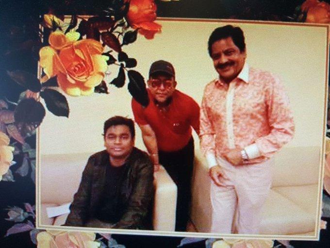 Happy birthday to A.R.Rahman sirji