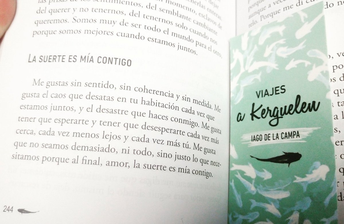 Iago De La Campa Twitterissä La Suerte Es Mía Contigo