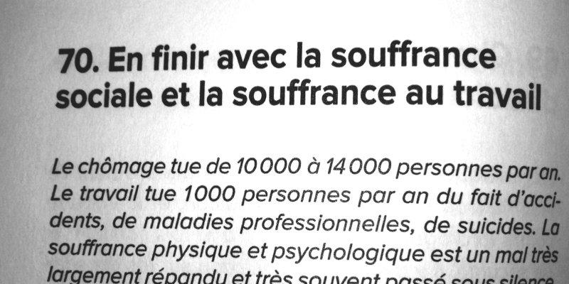 Comment M. Mélenchon veut en finir avec la souffrance au travail.  #Auchan Pour le savoir : lire l&#39;#AvenirEnCommun !<br>http://pic.twitter.com/JVaJXqbmta