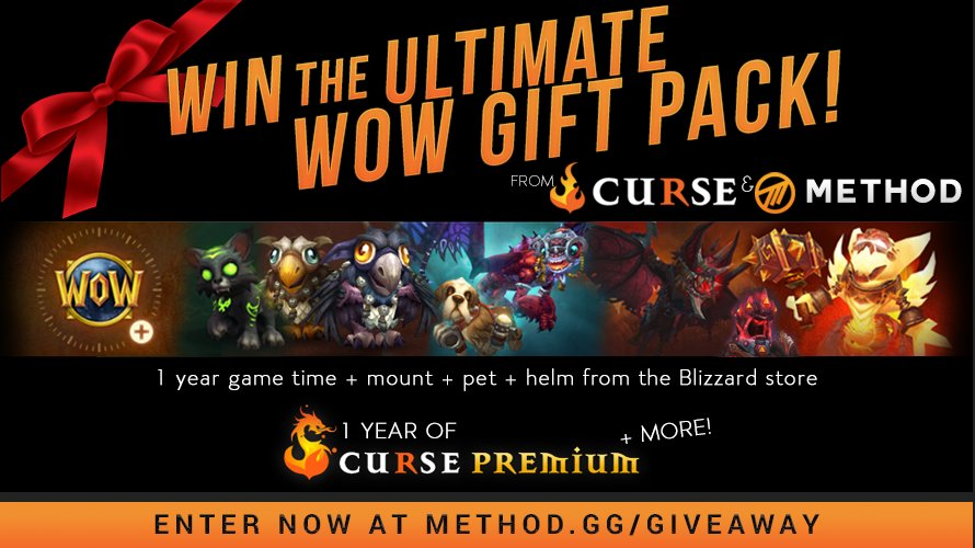 Method On Twitter Win The Ultimate Warcraft Gift Pack Featuring