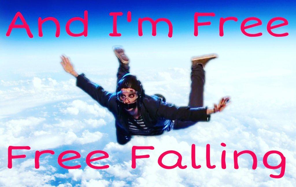 cause i m free free falling