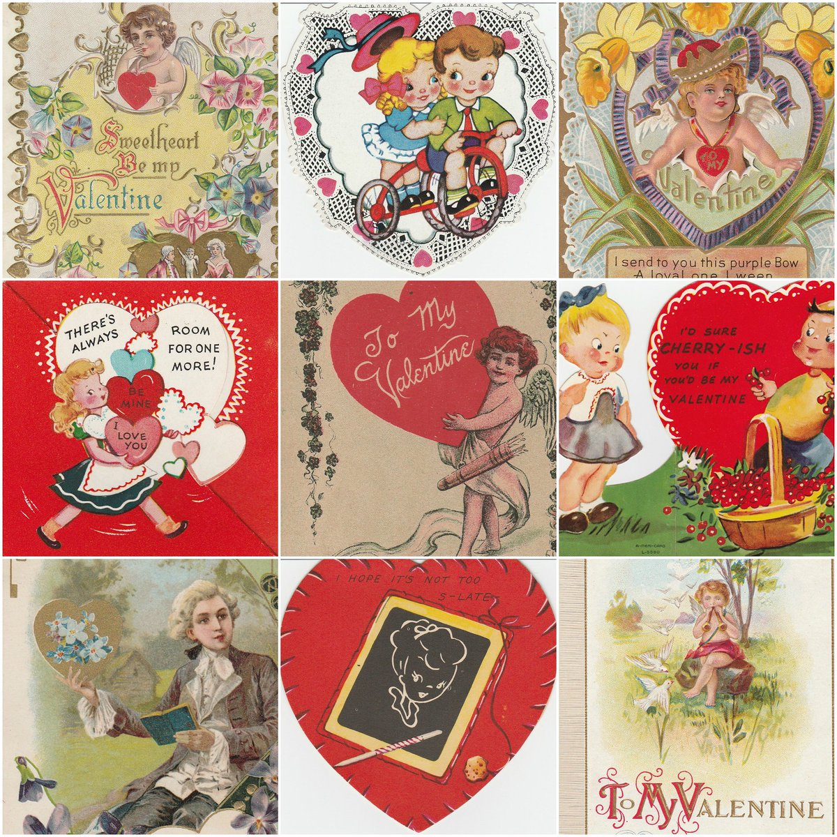 New arrivals at Birdhouse Books - beautiful #vintage #Valentines to collect, frame, or gift:https://t.co/s51LBtFNaA https://t.co/uwdta5O2rV