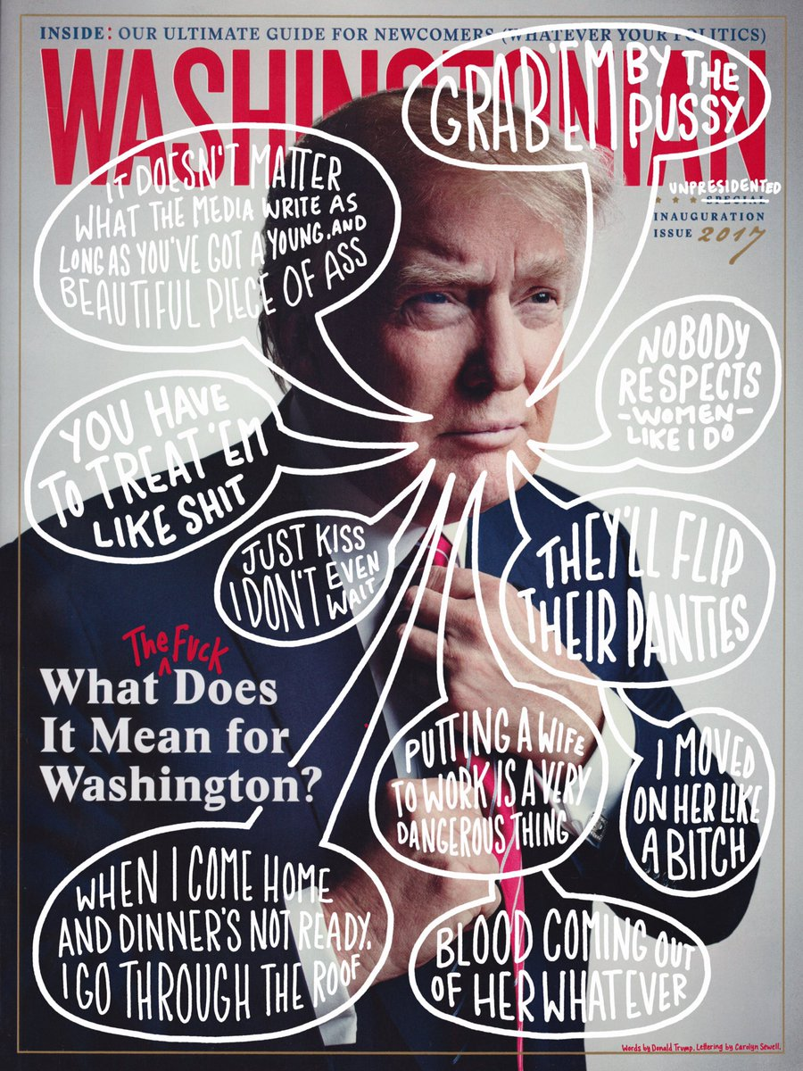 I made some edits to the latest issue of @washingtonian magazine. #NeverTrump #notmypresident #aCreativeDC https://t.co/kC6z0o2xSj