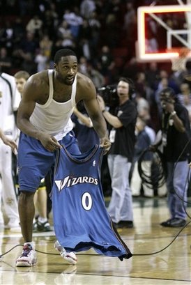 Happy 35th birthday to my favorite basketball player ever, Gilbert Arenas.