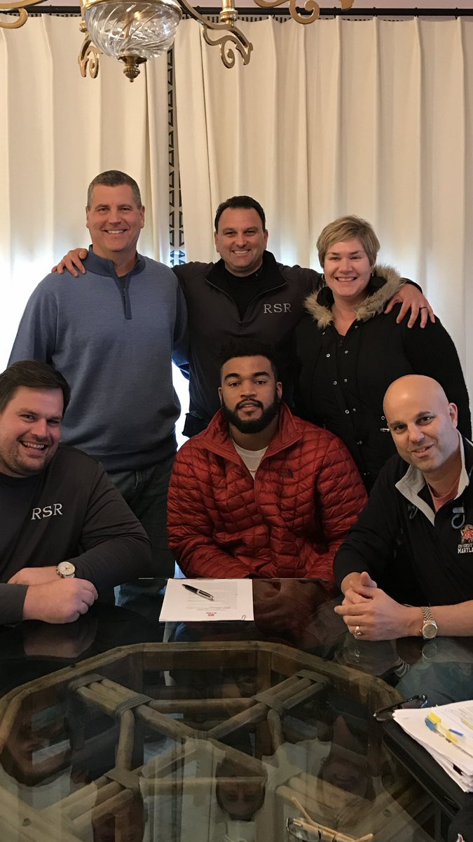 Thrilled to welcome @dbarnett25 to the Rosenhaus Sports Family! https://t.co/nEsZKSU9Zc