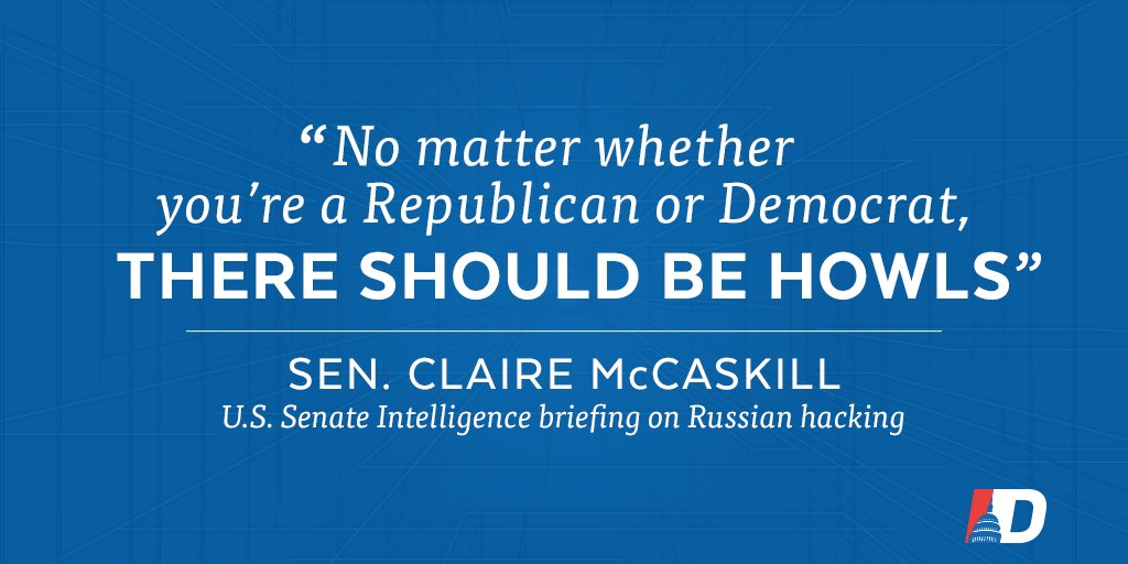 .@clairecmc slams GOP for silence on Russia hacking U.S. election