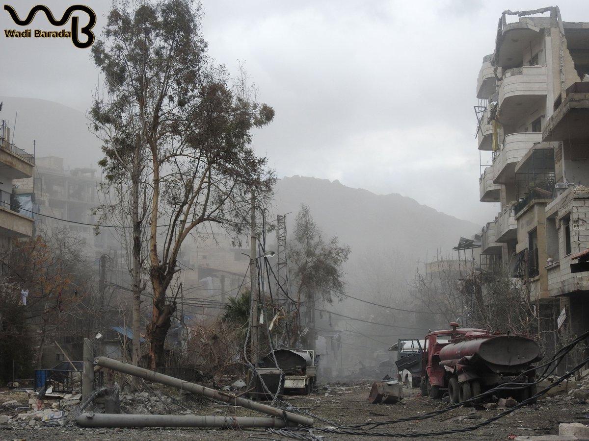 مهم وعاجل: مسودة المحادثات بين الفصائل في وادي بردى وبين نظام بشار الأسد  C1gGlP8XAAAf2Tz