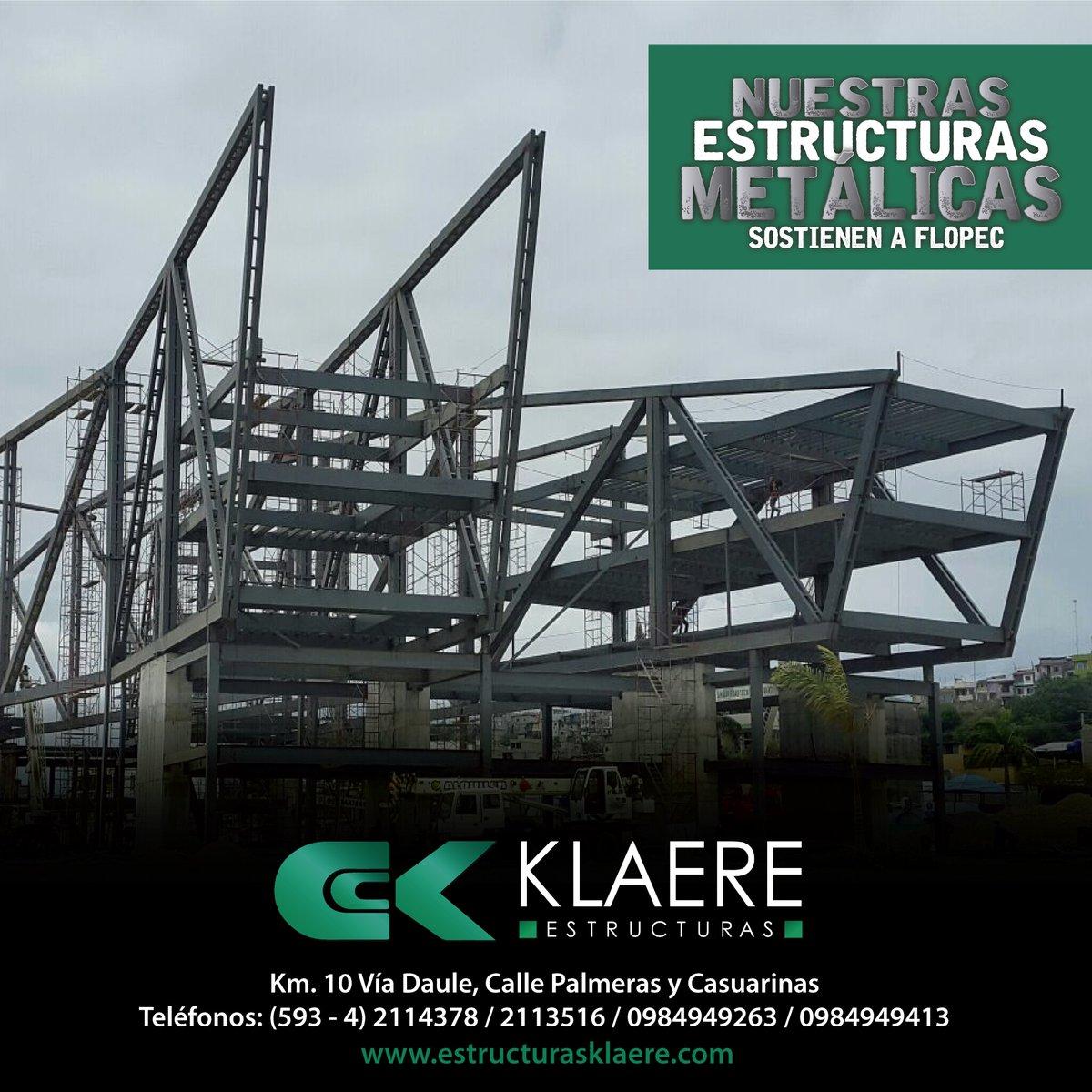 Klaere Estructuras در توییتر Nuestras Estructuras Metálicas