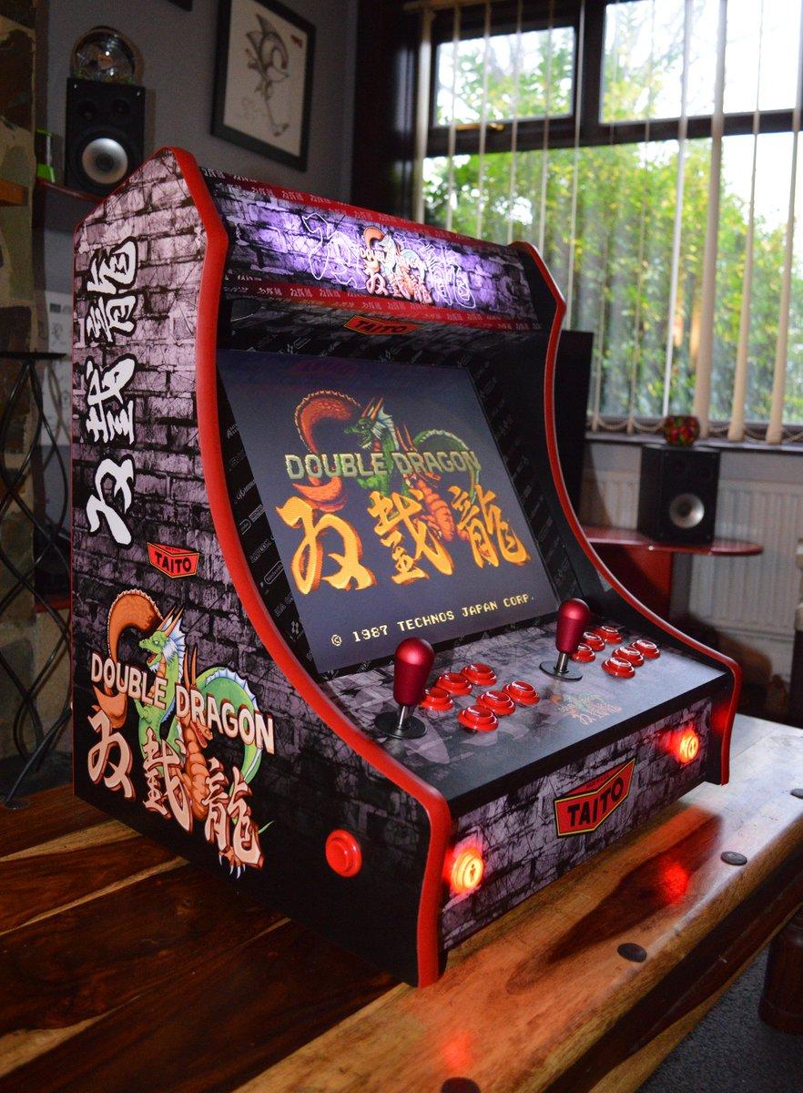Mini Arcade Machines On Twitter Custom Double Dragon Bartop