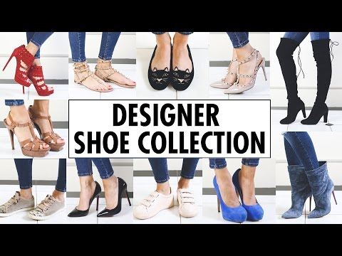 MY DESIGNER SHOE COLLECTION
