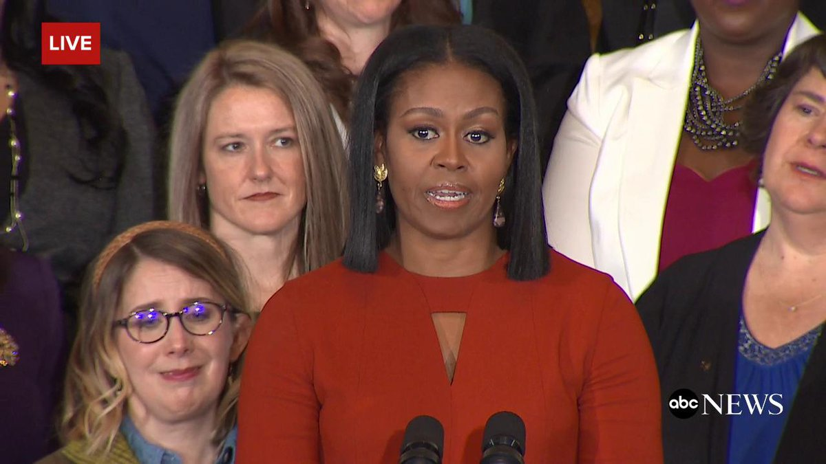 FLOTUS appears emotional in concluding remarks as First Lady, saying the role has been 'the honor of my life'