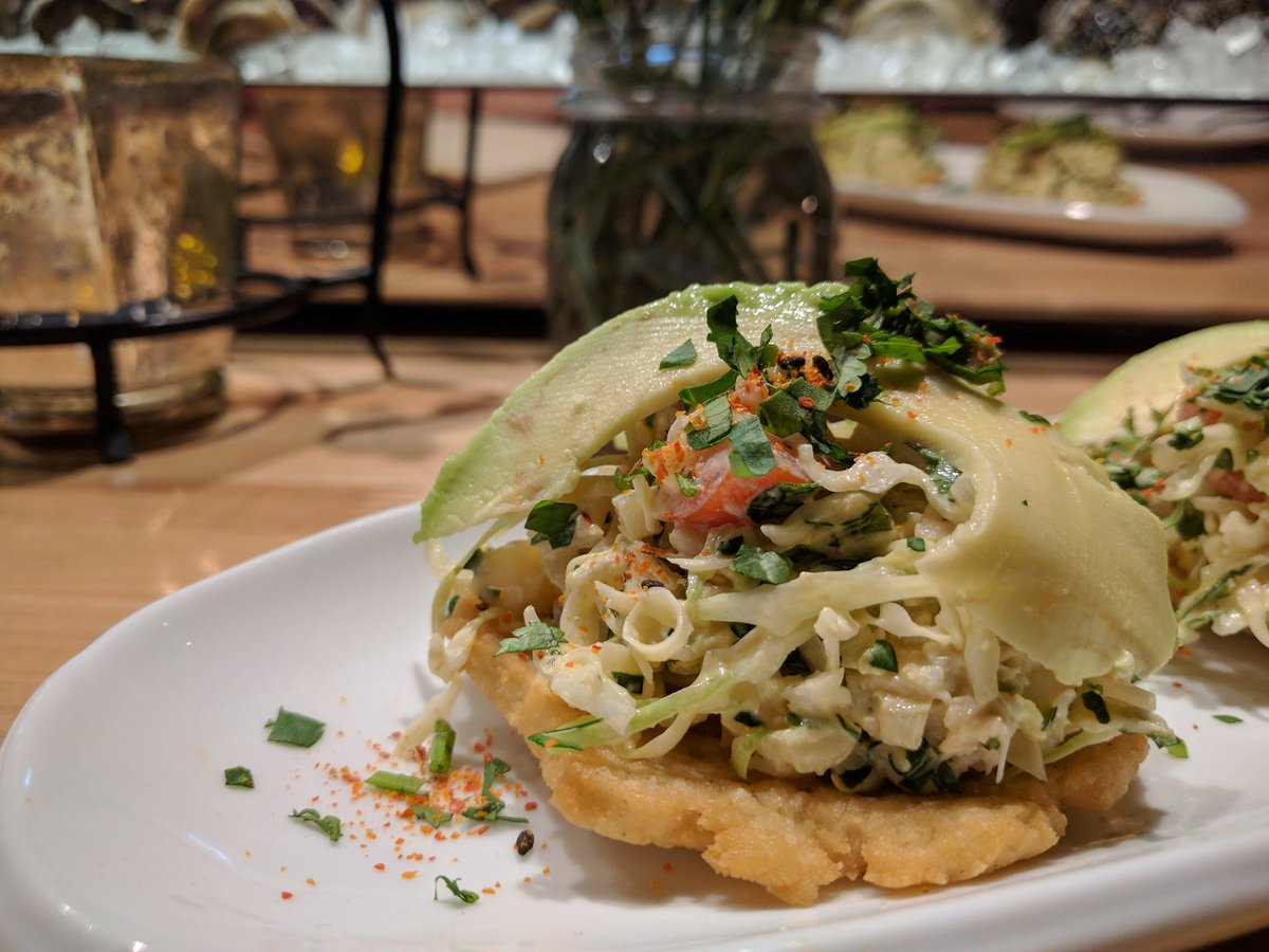 Travelling Foodie Eats Crab Tostada at Other Mama Las Vegas Nevada