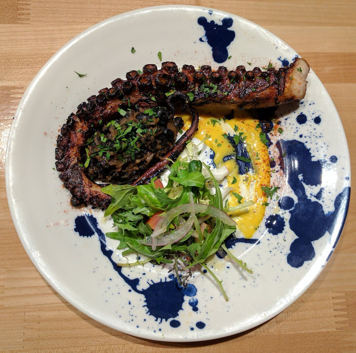 Travelling Foodie Eats Grilled Octopus at Other Mama Las Vegas Nevada