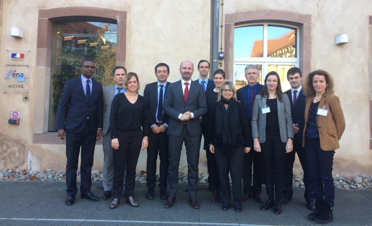 Merci @ENA_fr pour votre confiance et bon vent à la promotion #ENA pour vos #négociations futures ! cc @nathalieloiseau @jmblanquer @essec<br>http://pic.twitter.com/58ZVeTPLYy