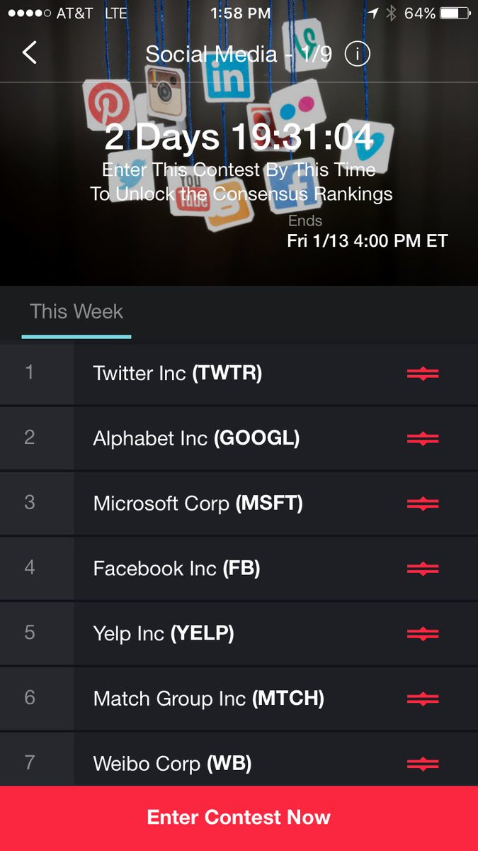 The Social Media and US Sector contests seem to be the most popular with 30+ competitors weekly https://t.co/tDH6i92mt0