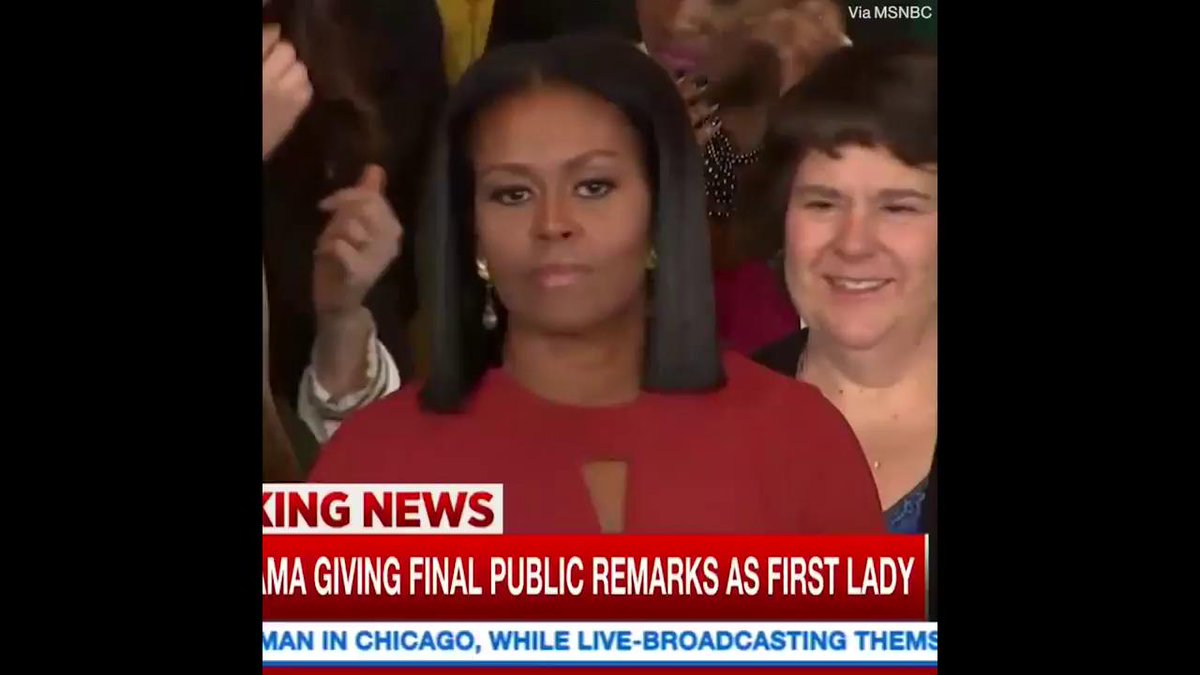Michelle Obama's emotional final speech is a must-see. https://t.co/hSmp9HqTvN