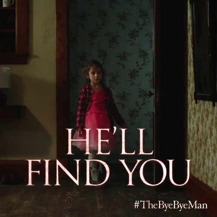 Once you know his name, he won't stop... until you're dead. #TheByeByeMan in theaters Friday the 13th.