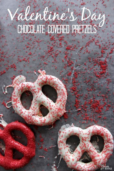 Chocolate Covered Pretzels Recipe for Valentine's Day