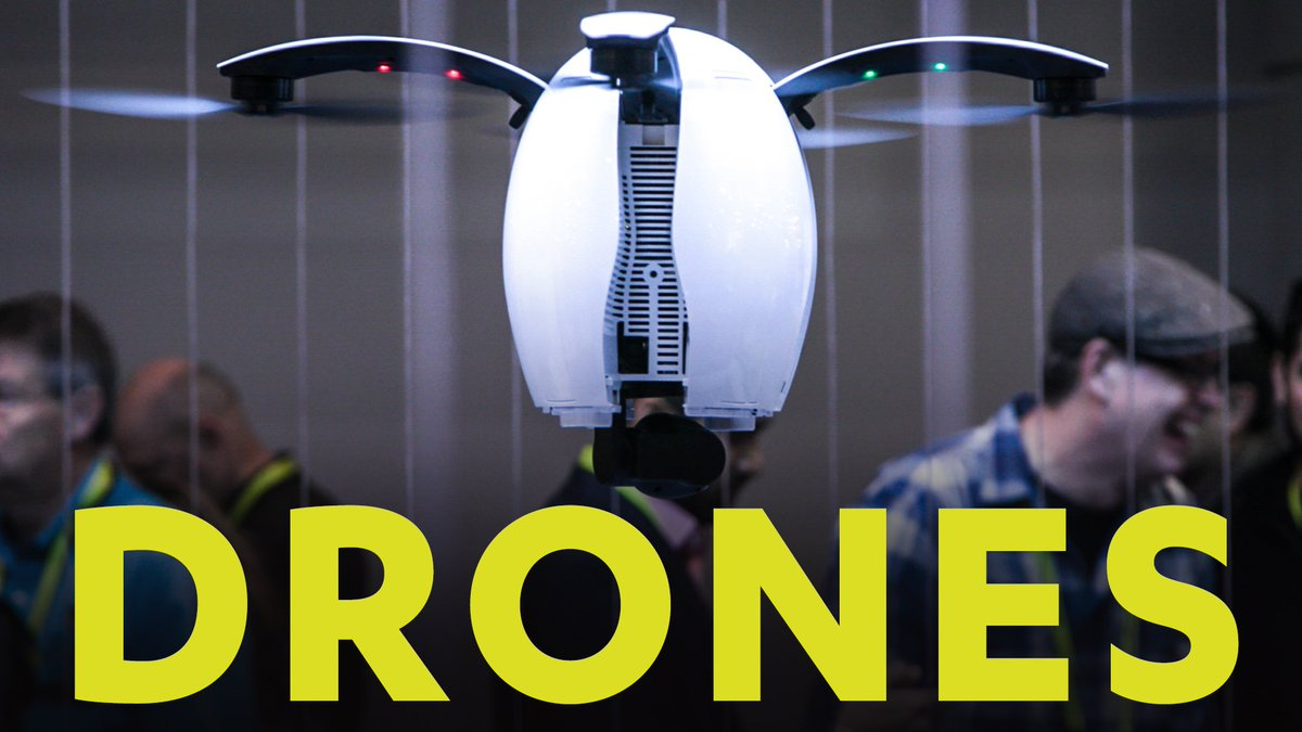Drones Are Flying into the Future at #CES2017
