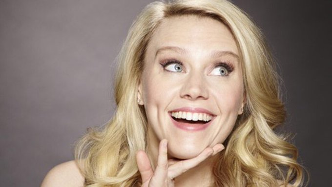 Here is my birthday shout out to Kate McKinnon!   She rocks my socks! Happy Birthday!!