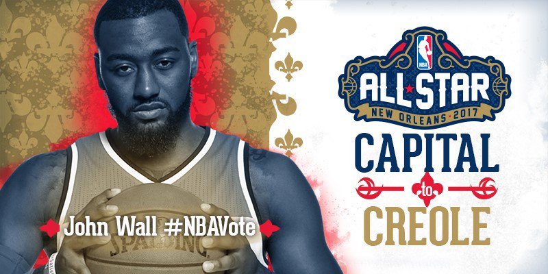 Hey!  Help get @johnwall to the @NBA All-Star Game! RT to cast your #N...