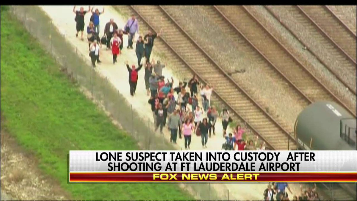 Lone suspect taken into custody after shooting at FLL Airport