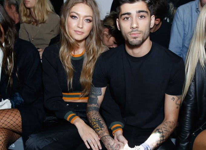 Gigi Hadid Took a Makeup-Free Selfie With Zayn, and It's Too Perfect for Words