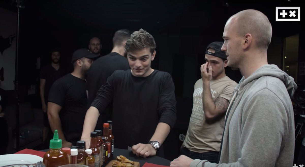 Hot Ones BTS w BIG BITE Martin Garrix on the latest episode of The Mar...