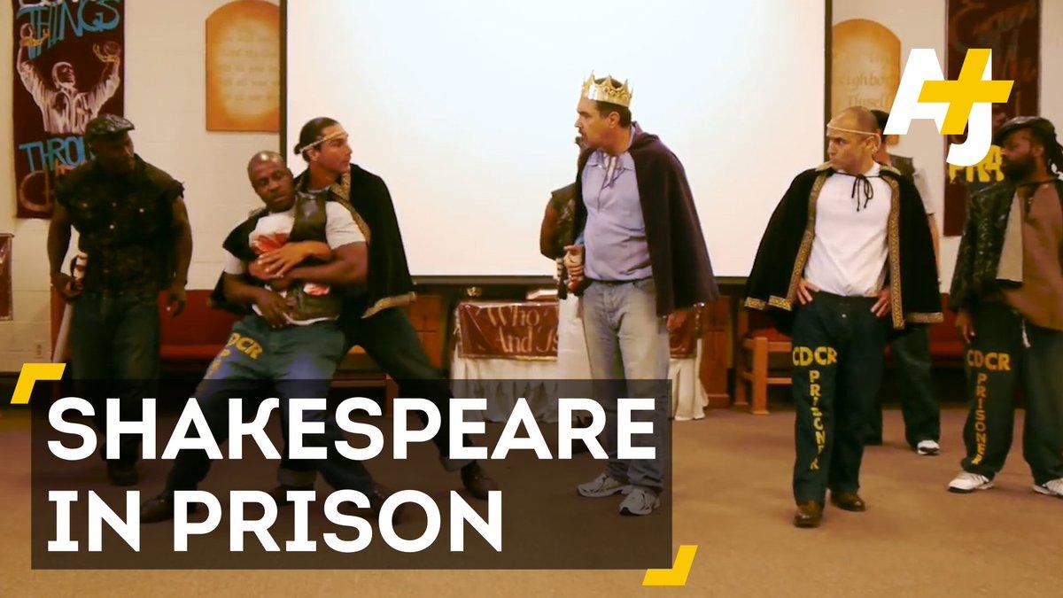 These men are twisting fate through Shakespearean theatre – in prison....