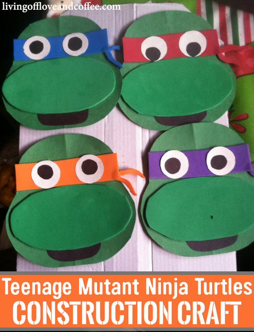 Teenage Mutant Ninja Turtles Craft