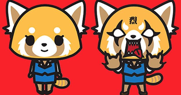 buzzfeed on twitter sanrio s new character aggretsuko is quite