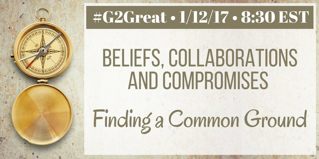 #G2Great is excited to find a common ground for our Beliefs, Collaborations & Compromises. See you tonight! @brennanamy  @hayhurst3 https://t.co/wfr4z9gTSc