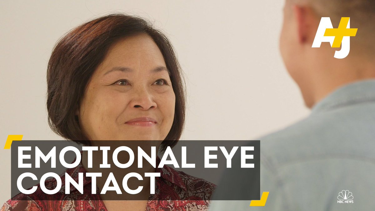 Asian-American parents and children shared four minutes of eye contact. Things got emotional.