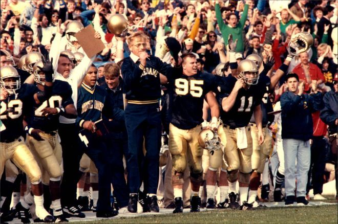 Happy 80th Birthday, Lou Holtz: 1986-96 Notre Dame Head Coach //