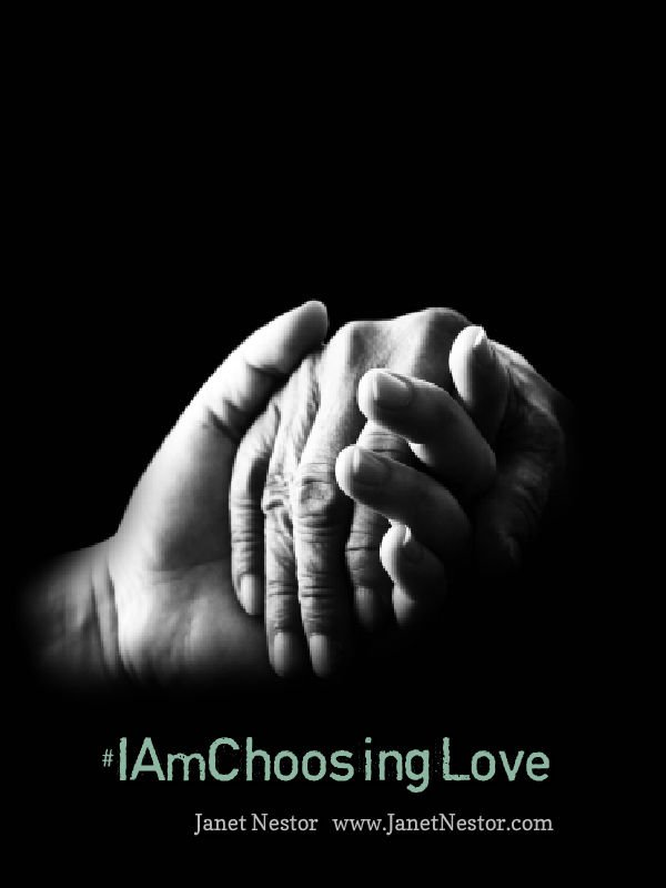 Everyone needs a helping hand now and then. Choose love.  #IAmChoosingLove https://t.co/z5n3csUewM