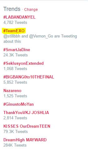 TRENDING MGA BES   #TeamEXO <br>http://pic.twitter.com/zC0CT73Dtm