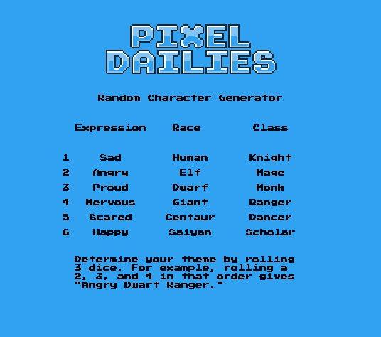Pixel Dailies on Twitter: